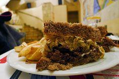 A szendvics, ami négy napig készül - All about Street Food Pulled Pork, Hungary, Budapest, Hamburger, Bucket, Keto, Drink, Ethnic Recipes, Shredded Pork