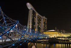#helixbridge #marinabay #marinabaysand #singapore #gardens