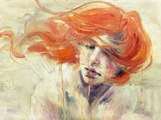 Imagens de Rostos Tristes - Bing Imagens Silvia Pelissero, Agnes Cecile, Pop Surrealism, Italian Artist, Watercolor Portraits, Watercolor Painting, Traditional Art, Love Art, Art Photography