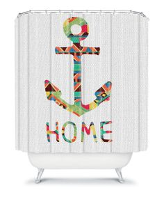 Take a look at the You Make Me Home Shower Curtain on #zulily today!