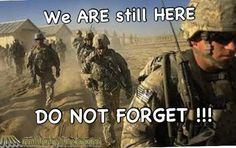 God Bless our Soldiers, hurry home - we need you!