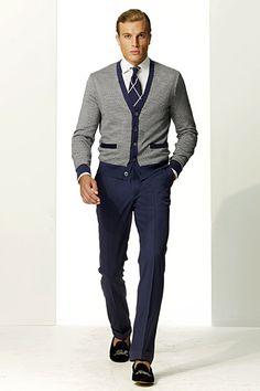 Ralph Lauren - Purple Menswear - 2011 Spring-Summer