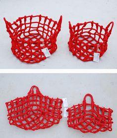 knot basket by Shigeki Fujishiro