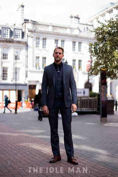 Men's Street Style - Suit and Boot
