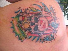 Dive Tattoo - - ScubaBoard Gallery