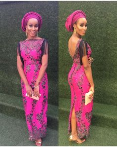 asoebi styles traditional weddings: 25 stunning asoebi styles for traditional wedding African Inspired Fashion, Latest African Fashion Dresses, African Dresses For Women, Africa Fashion, African Attire, African Outfits, African Clothes, Ankara Fashion, Nigerian Lace Dress
