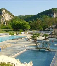 Mooie camping soleil plage zwembad, Sarlat Dordogne, Frankrijk