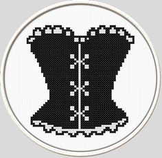 Cross stitch pattern PDF file is available for instant digital download.  Within a few minutes of purchase this item you will receive an email link for downloading and can print this pattern. This is a simple cute cross stitch pattern, suitable for stitchers of all levels.        #sweet#Cross#Stith********************************************************...