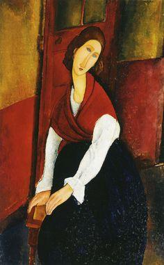 Amedeo Modigliani. Jeanne Hébuterne, 1919