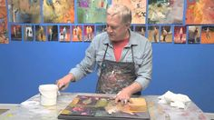 Do you want to learn how to save hundreds of dollars on framing costs? Let artist Bob Burridge show you how he uses gel medium and a blank canvas to give his...