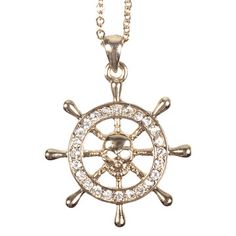 Sailors Wheel Necklace, $26, now featured on Fab.