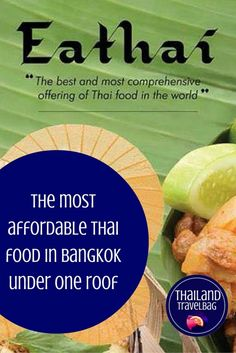Love Thai food? Enjoy all your favourite Thai dishes under one roof at an affordable price. #Bangkok #Thailand #Thaifood