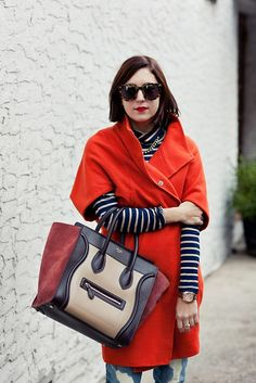 ORANGECOAT_4 by my style pill, via Flickr