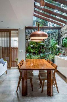 Dream Home Design, My Dream Home, Best Home Interior Design, Decor Interior Design, Patio Interior, Tropical Interior, Kitchen Interior, Top Interior Designers, Interior Architecture
