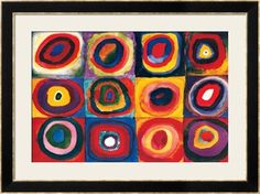 Color Study of Squares Premium Giclee Print by Wassily Kandinsky at Art.com
