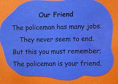 Police poem/ community week