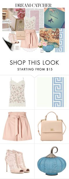 """Pastel Outfit #2"" by johannamaria37 ❤ liked on Polyvore featuring Dorothy Perkins, Miss Selfridge, HUGO, Dolce&Gabbana, Chanel, dolcegabbana, FloralTop and CamiTop"