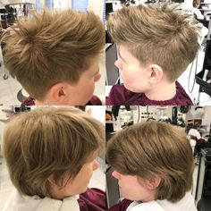 #shorthair #coiffurecitylangenthal #newhaircut New Haircuts, Short Hair Styles, Make Up, Hairstyle, Bob Styles, Fresh Haircuts, Short Hairstyle, Beauty Makeup, Short Hairstyles