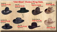 Wild West Mercantile – Authentic Old West Clothing , Western Clothing, Victorian & Historical for Men and Women from the old west Single Act. Western Hat Styles, Cowboy Hat Styles, Western Hats, Western Outfits, Western Wear, Cowgirl Outfits, Cowgirl Hats, Cowboy Up, Hats For Sale