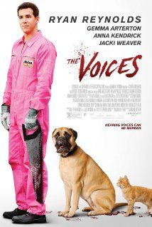 The Voices on DVD April 2015 starring Ryan Reynolds, Gemma Arterton, Anna Kendrick, Jacki Weaver. Jerry (Ryan Reynolds) is that chipper guy clocking the nine-to-five at a bathtub factory, with the offbeat charm of anyone who could use a f Movies 2014, Hd Movies, Movies To Watch, Movies Online, Movies And Tv Shows, Movie Tv, Horror Movies, Prime Movies, Movies Free