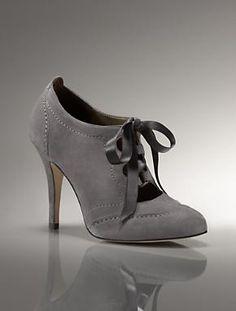 Talbots - Laura Ribbon-Lace Spectator   Shoes   Medium