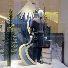 "Hermes,""Keep Calm there is snow in the forecast tomorrow"", pinned by Ton van der Veer"