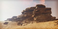 ArtStation - DT: Creating Rock Structures for Games in ZBrush and Unreal Engine, Clinton Crumpler
