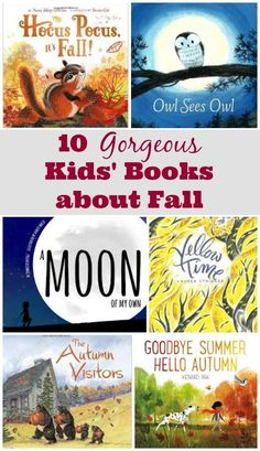 Children's Books about Fall | Autumn Picture Books | Fall books about leaves and seasonal changes
