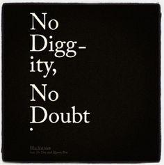 No Diggity. #throwback #90s