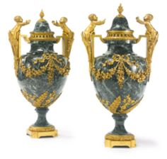 19th Century Furniture and Decorative Art | Sotheby's LUIS XVI marble vase