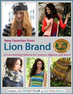 New Favorites from Lion Brand: 15 Free Knitting Patterns for Scarves, Afghans and More by Editors of AllFreeKnitting http://www.amazon.com/dp/B00FMYYE92/ref=cm_sw_r_pi_dp_inbYvb0J79J65