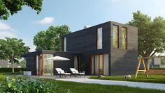 <!--:nl-->Open Modern<!--:--> Prefab, Ramen, Multi Story Building, Garage Doors, Villa, New Homes, House Styles, Outdoor Decor, Design