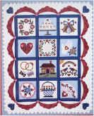 Wedding Quilt - Quilting - Free Quilting Patterns - Applique Instructions - Applique - Quilt - Baby Quilt Pattern - Quilt Patterns