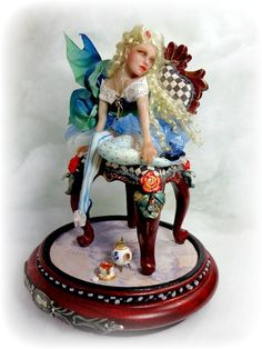 OOAK ALICE IN WONDERLAND BY  VICCI NOEL