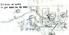 children re-sketched | from picture book Save Whoosha by Prema Dousa, via Behance