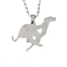 Find More Pendant Necklaces Information about Running Italian Greyhound Dog Pendant Necklaces Silver Plated Animal Charm Gifts For Dog Lovers Women Dog Jewelry 1pcs,High Quality charm birthday,China charm slide Suppliers, Cheap charms ski from Morgan Jewelry on Aliexpress.com