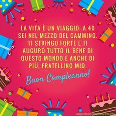 Auguri Di Buon Compleanno 40 Anni.7 Fantastiche Immagini Su Biglietti Auguri 40 Anni 40