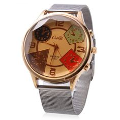 CaiQi A - 507 Fashion Multiple Pattern Dial Quartz Watch for Men #>=#>=#>=#>=#> Click on the pin to check out discount price, color, size, shipping, etc. Save and like it!