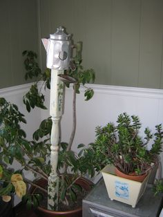 coffeepot birdhouse
