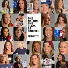 'One Nation. One Team. 23 Stories.' (U.S. Soccer/Instagram)