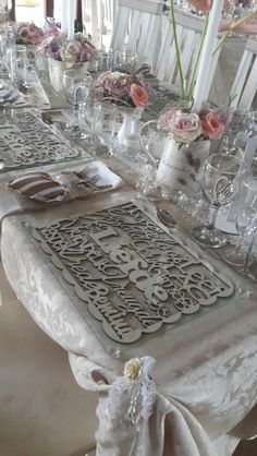 Wooden laser cut place mats