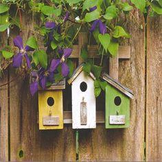 Homemade Bird Houses | homemade bird houses for kids children making bird house how to make a ...