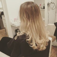 Beautiful blond. Olaplex.
