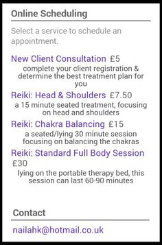 #blackfridaydeals get 2 for 1 when you book a £30 #Reiki #therapy session with Nailah K visit http://nailah-k-ltd.co.uk ENDS MIDNIGHT TONIGHT