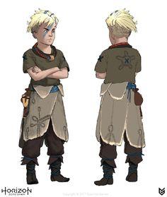 ArtStation - Horizon Zero Dawn: Story Characters, luc de haan