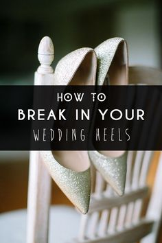 Ever wanted to kick your adorable heels off in pain? Girl, we feel you. So learn how break in your heels properly!