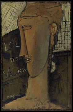 Amedeo Modigliani, Lola de Valence, 1915. Metropolitan Museum of Art, New York. Courtesy of the Jewish Museum.
