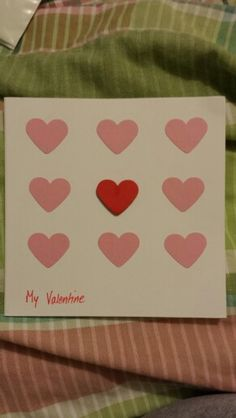 'All my heart' Valentine Card