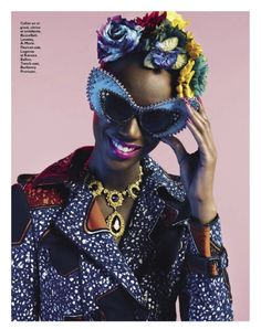 Cultural Toast - Nadia Giramata for Grazia France May 2012 styled...