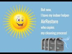 How AirRestore Works. AirRestore's patented ionic technology helps eliminate air pollutants that traditional filter systems cannot trap by replicating nature's own cleaning process. AirRestore produces positive and negative ions that are dispersed throughout the room, proactively attacking germs, bacteria, pet dander, viruses, dust, mold and more without harmful chemicals or perfumes.